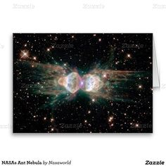 NASAs Ant Nebula Greeting Card