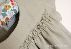 Agnes Blouse by Citronille | Smock detail