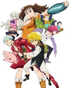 Nanatzu no taizai Seven Deadly Sins Anime, 7 Deadly Sins, 7 Sins, I Love Anime, Awesome Anime, Meliodas, Anime Nerd, Manga Anime, No Taizai