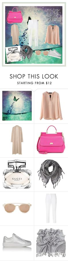 """""""hidjab 2016"""" by ragazza-para-siempre on Polyvore featuring MANGO, Dolce&Gabbana, Gucci, Love Quotes Scarves, Taylor Morris and Prada Sport"""