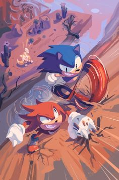 Who will win?  Sonic or knuckles? Vote down below