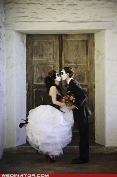 dia de los muertos - day of the dead - wedding