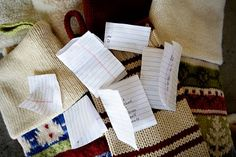 Christmas stocking notes traditions