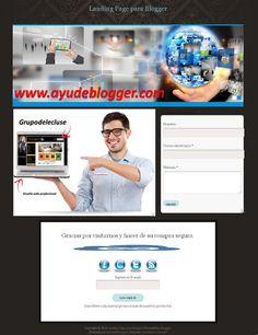 Plantillas Landing page para blogger « Widgets y Plugins para Blogger