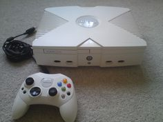 White Custom Original Xbox