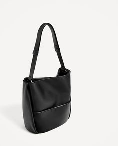 LEATHER BUCKET BAG WITH POCKET-View all-BAGS-WOMAN | ZARA United States