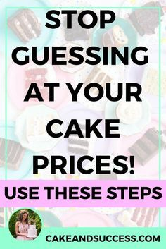 Not sure how to charge for your cakes? Always guessing at what to charge? Here are 3 ways you can confidently charge for your cakes in your cake business. Cake pricing, cake tastings, cake consultations, cake studio, wedding cakes, gum paste, sugar flowers, Maggie Austin, Cake Decorating Tutorial, Cake Business, Craftsy Cake, Fondant, Cake Storefront, baking business, cake serving guide, cake storage, cake organization, cake presentation