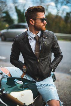 прическа мужская мода
