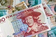 Image detail for -Swedish Krona, The Currency Of Sweden. Several Bills. Royalty Free ...