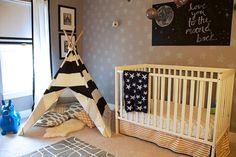 23 Fantastically Beautiful Starry Nursery Decor Ideas | Kidsomania