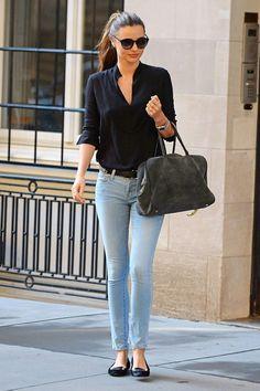 Los mejores looks de octubre 2013: Miranda Kerr