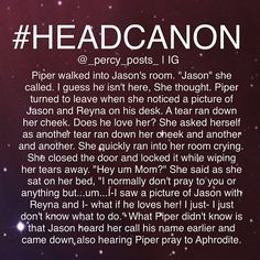 percy jackson headcanon