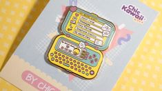 Lovely pin My Secret Diary. Super cute. Design by Chic Kawaii.