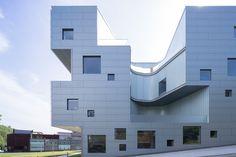 Visual Arts Building at the University of Iowa,© Iwan Baan