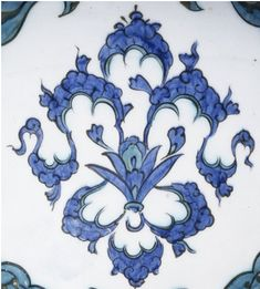 Section The Period of The Baba Nakkaş – - General - - The İznik Tiles and Ceramics Turkish Design, Turkish Art, Turkish Tiles, Islamic Art Pattern, Pattern Art, Arabic Art, Islamic Calligraphy, Tile Art, Art And Architecture