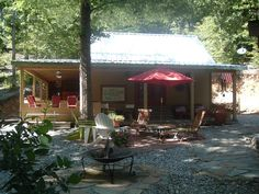 Mount Ida Vacation Rental - VRBO 375856 - 2 BR Lake Ouachita Cabin in AR, Caddo River Cabin, Near Lake Ouachita/ Hot Springs Outdoor Kitchen...