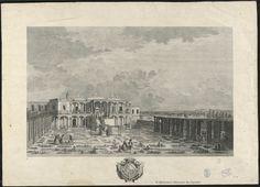 [Vista de la casa de campo de Pedro Carrillo de Albornoz]. Salvador Carmona, Manuel 1734-1820 — Grabado — 1795?