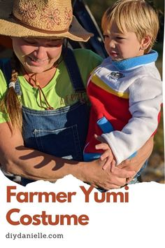 How to make an easy Farmer Yumi costume from Paw Patrol for Halloween. Family Costumes, Halloween Costumes, Paw Patrol, Clothing Items, Farmer, Clothes, Easy, Fashion, Outfits