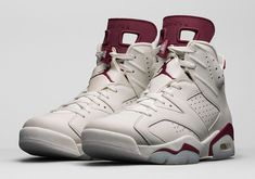 "a6df3bcb296 December s Jordan Releases Kick Off With The Air Jordan 6 ""Maroon"" Jordan 6  Maroon"