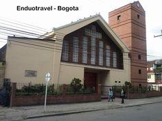 Iglesia Santuario de Santa Marta en Bogota, uno de los lugares mas visitados por los pelegrinos en la capital