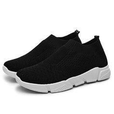Sneaker mit elastischem Obermaterial 84ad20d34