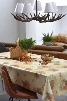 Toile cirée supérieure Vénilia Collection 2016  Chasse champêtre 53651