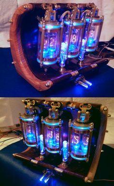 Nixie tube clock