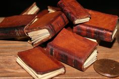 Miniature Books... I am in love with all things miniature.