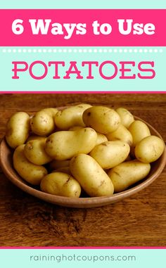 6 Ways To Use Potatoes -  Have a broken light bulb in a light socket and can't get it out safely? Try using a potato.  Cut the potato in half and screw it into the broken light bulb piece. Slowly start turning until the remaining pieces start to loosen and remove it completely.