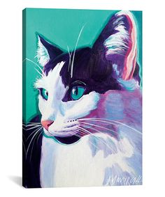 Another great find on #zulily! Kitty Wrapped Canvas #zulilyfinds