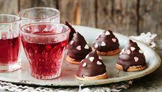 Vadelmaiset suklaasuukot - K-ruoka