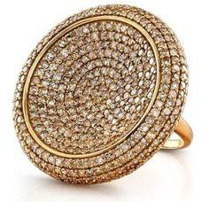Pave Diamond Ring - Sabbia Collection