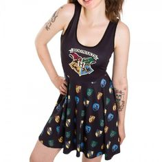 Harry Potter Hogwarts Dress - Junior-Womens' (Large)