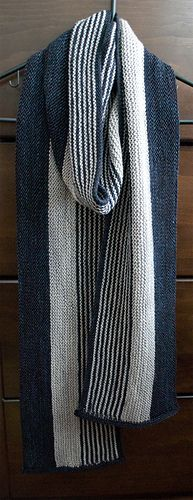 This is a pattern for BOTH the Cowl and the Scarf. Simple stripes and wonderful texture make this perfect for men and women. As a matter of fact, the pictures on this page are projects for both myself (cowl) and my husband (scarf).