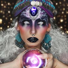 Fortune Teller Halloween Makeup Mehr