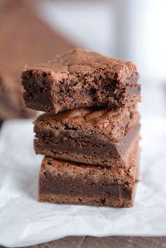 One-Bowl Fudgy Chocolate Brownies