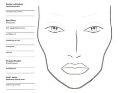 Organized Blank Face Chart To Print Blank Makeup Face Charts Free M A C Face Chart Mac Makeup Face Template Printable Blank Makeup Face Charts Mac Makeup Artists, Makeup Artist Tips, Best Mac Makeup, Best Makeup Products, Mac Products, Beauty Products, Free Makeup, Makeup Kit, Makeup Tools