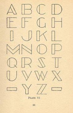 Letras para tatuajes de nombres 25 Calligraphy Letters, Typography Letters, Typography Design, Art Deco Typography, Print Letters, Hand Lettering Alphabet, Fancy Letters, Bubble Letters, Monogram Alphabet