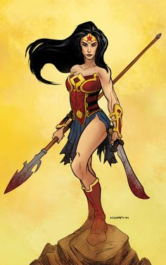 Wonder Woman by Andrew Kwan *
