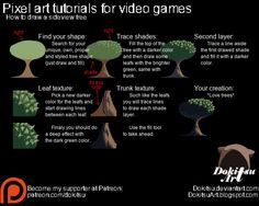 How to draw a sideview tree - Patreon tutorial by dokitsu on DeviantArt