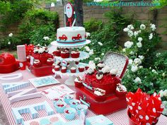 """Photo 3 of 8: Fire Truck / Birthday """"Vintage Firetruck"""" 
