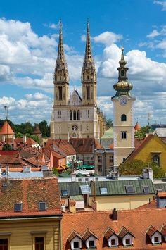 Zagreb, Croatia. Our tips for 25 places to see in Croatia: http://www.europealacarte.co.uk/blog/2012/01/05/what-to-do-in-croatia/