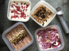 Ketojäätelö – Ketoreseptit Acai Bowl, Ice Cream, Keto, Breakfast, Food, Mascarpone, Acai Berry Bowl, No Churn Ice Cream, Morning Coffee