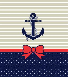 Picture of Cute Anchor Pattern with Bow iPhone 5 Hard Shell Case(PC White) Anchor Wallpaper, Nautical Wallpaper, Cute Backgrounds, Cute Wallpapers, Wallpaper Backgrounds, Cellphone Wallpaper, Iphone Wallpaper, Color Patterns, Print Patterns