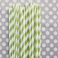 @Kaylyn Swanson striped paper straws for your wedding?  not very expensive and SO cute.  you can get them in any color imaginable