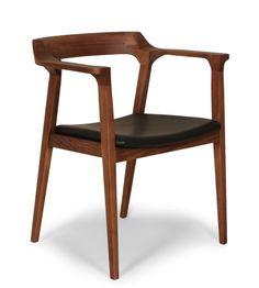 Ash Wood Arm Chair