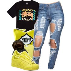 Designer Clothes, Shoes & Bags for Women Teen Girl Outfits, Swag Outfits, Dope Outfits, Casual Outfits, Fashion Outfits, Black Outfits, School Outfits, Fall Outfits, Polyvore Outfits