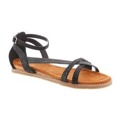 We are keeping it fun and simple with the Miley sandals. It's perfect for the fashionista who are looking for a pair of strappy sandal for the summer time that is stylish without losing its comfort.