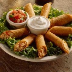 """Flautas de pollo"" Chicken crispy tacos ..."