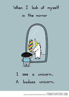 A Badass unicorn..